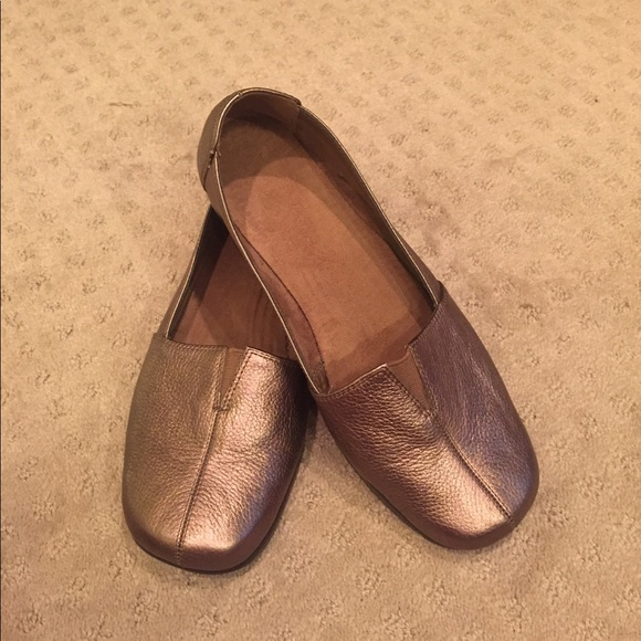 Aerosoles Wide Width Bronze Loafers